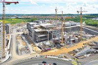 Construction - Travaux publics - photographie-aerienne-cloche-d-or-1-Gasperich-Luxembourg-photonair-Gerard-Borre-Photographe
