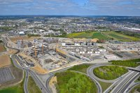 Construction - Travaux publics - photographie-aerienne-cloche-d-or-2-Gasperich-Luxembourg-photonair-Gerard-Borre-Photographe