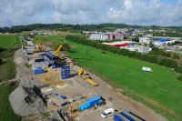 Construction - Travaux publics - photographie-aerienne-contournement-junglinster11-Luxembourg-photonair-Gerard-Borre-Photographe