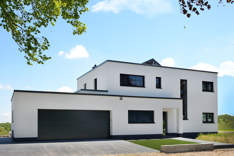 Best maison moderne luxembourg contact contemporary for Architecture maison moderne