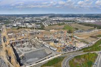 Panoramiques - photographie-panoramique-aerienne-Gasperich-1-Luxembourg-photonair-Gerard-Borre-Photographe