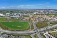 Panoramiques - photographie-panoramique-aerienne-Gasperich-2-Luxembourg-photonair-Gerard-Borre-Photographe