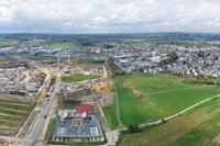 Panoramiques - photographie-panoramique-aerienne-Gasperich-3-Luxembourg-photonair-Gerard-Borre-Photographe