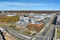 Panoramiques - photographie-panoramique-aerienne-kirchberg-nord-1-Luxembourg-photonair-Gerard-Borre-Photographe