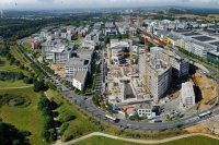 Panoramiques - photographie-panoramique-aerienne-kirchberg-nord-Luxembourg-photonair-Gerard-Borre-Photographe